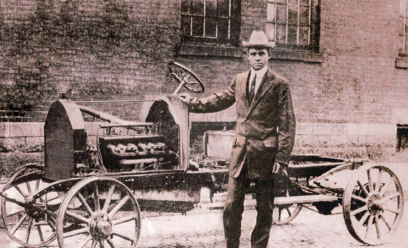 charles richard patterson the first black automaker