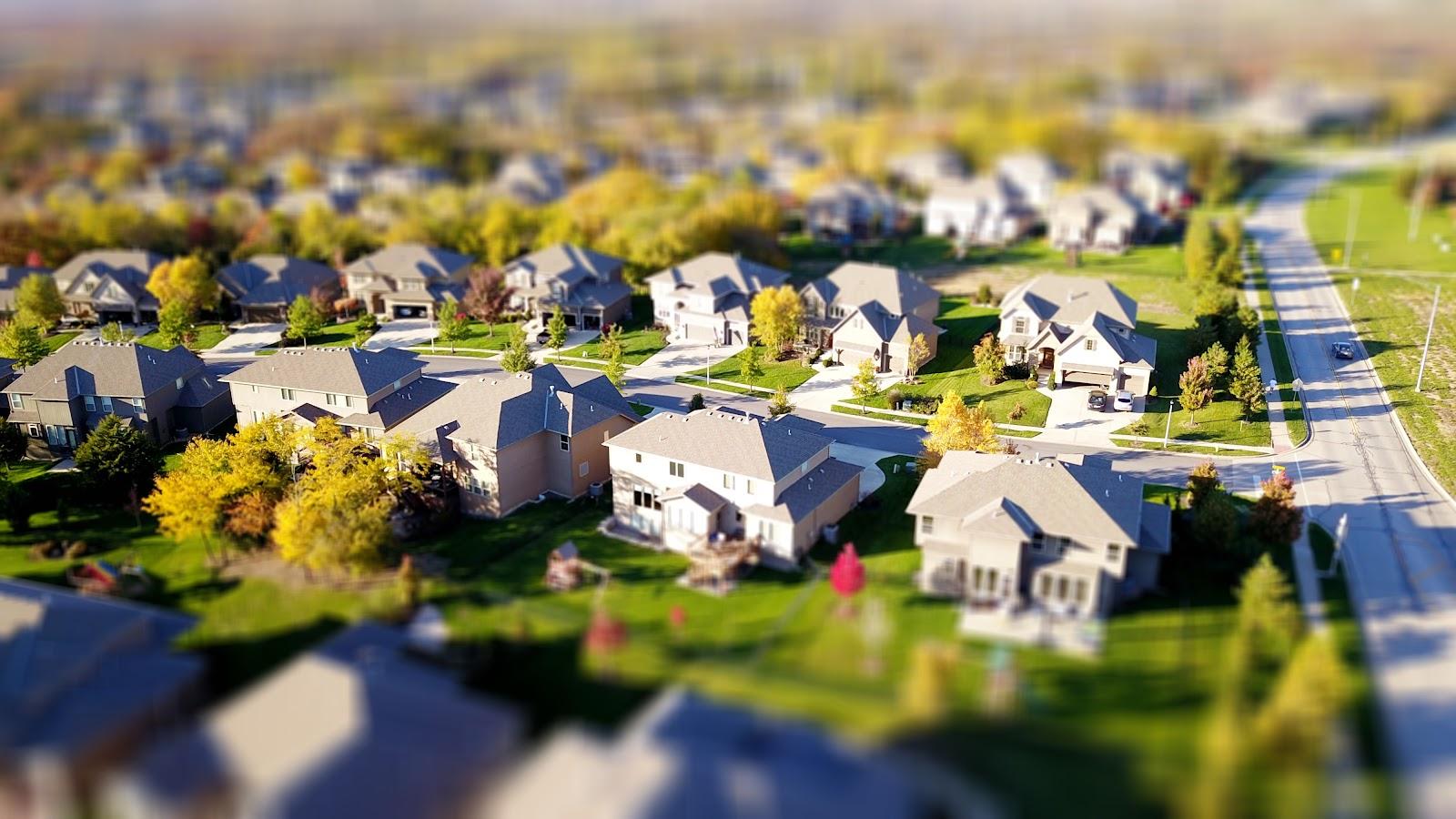 Model of a neighborhood