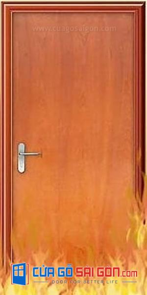 Cửa gỗ chống cháy là gì?