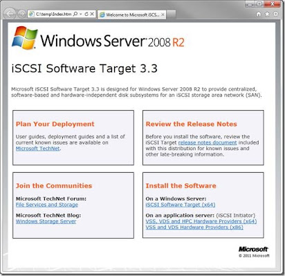 Iscsi initiator for windows 2003 64 bit download