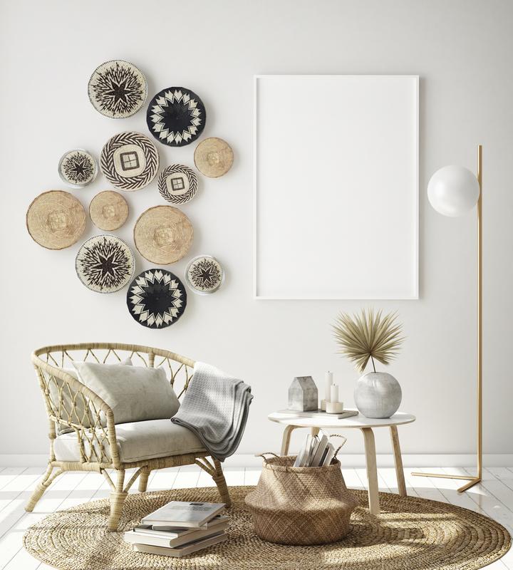 Hang A Basket Gallery Wall