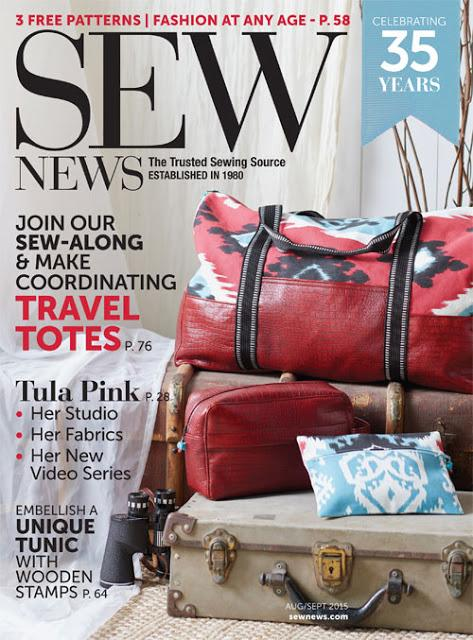 Sew News Grainline Studio Portside Travel Set Sew Along Week 3