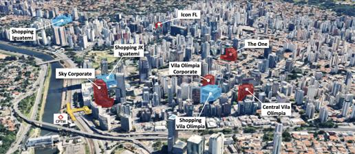 Cidade vista de cima  Descrição gerada automaticamente