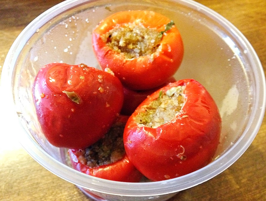 Marinated Stuffed Cherry Peppers