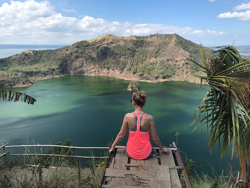Taal Volcano and lake