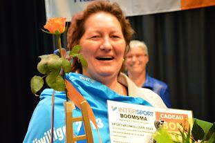 Vorig jaar werd Martha Jelies (VV Tollebeek) Sportvrijwilliger van het Jaar.