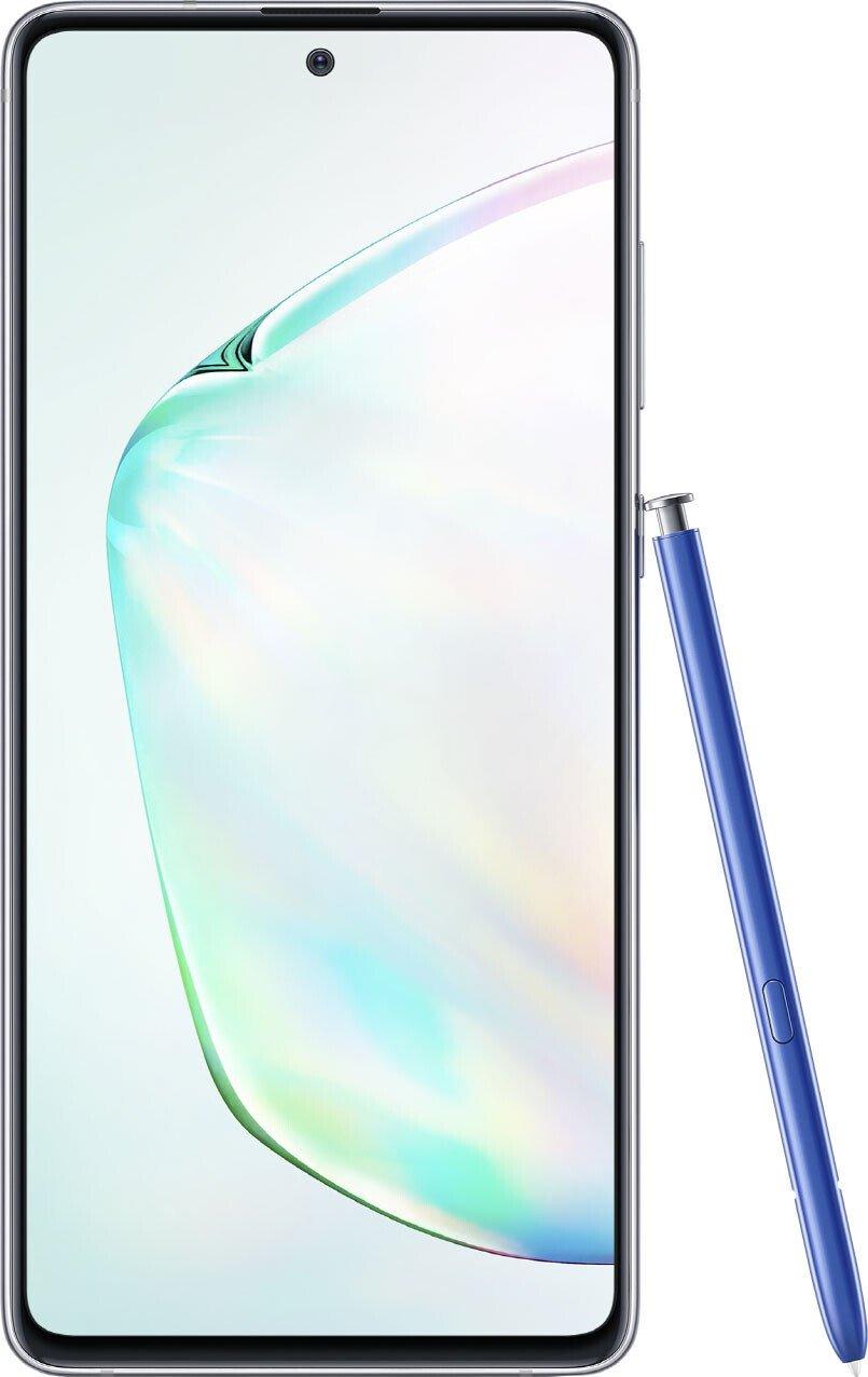 Дизайн смартфона Samsung Galaxy Note 10 Lite 6/128Gb Silver