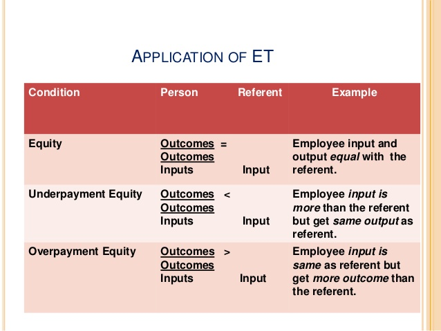 limitations of equity theory