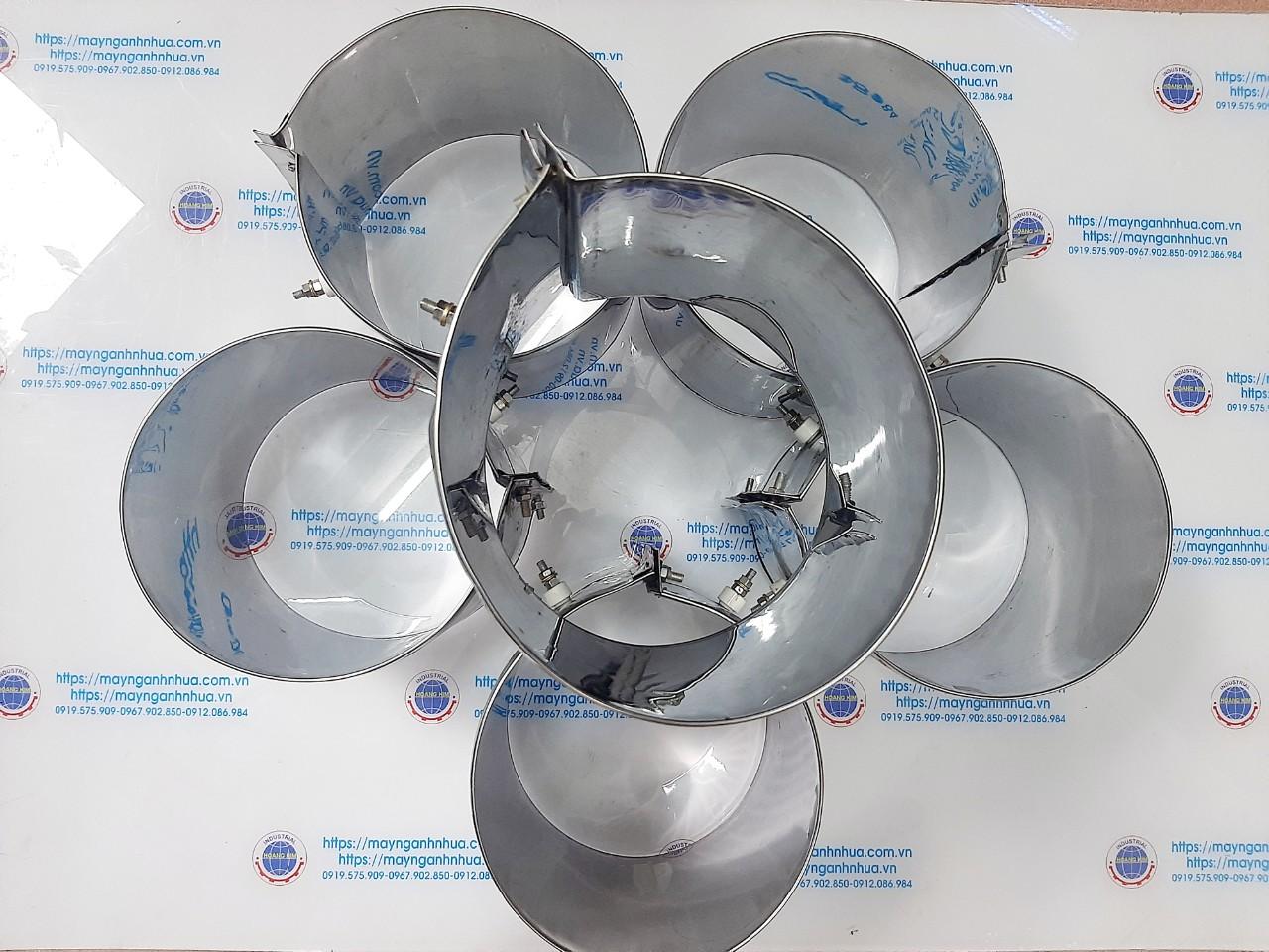 Vòng nhiệt inox phi 165x150/ 380v