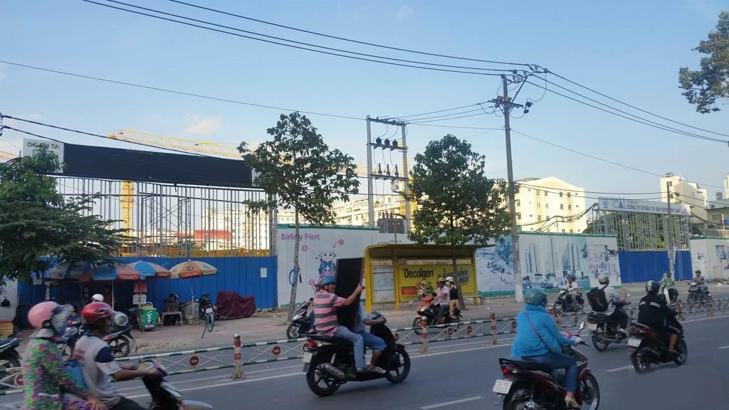Xi Grand Court tiến độ xây dựng