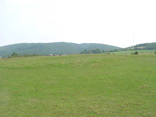 Pastures in Belgium where atypical myopathy cases have been diagnosed in the fall of 2002