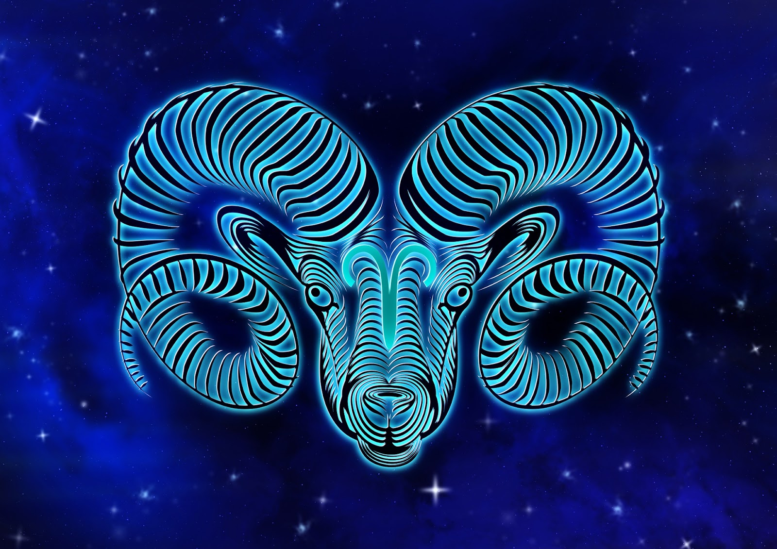 Aries is represented by the ram.