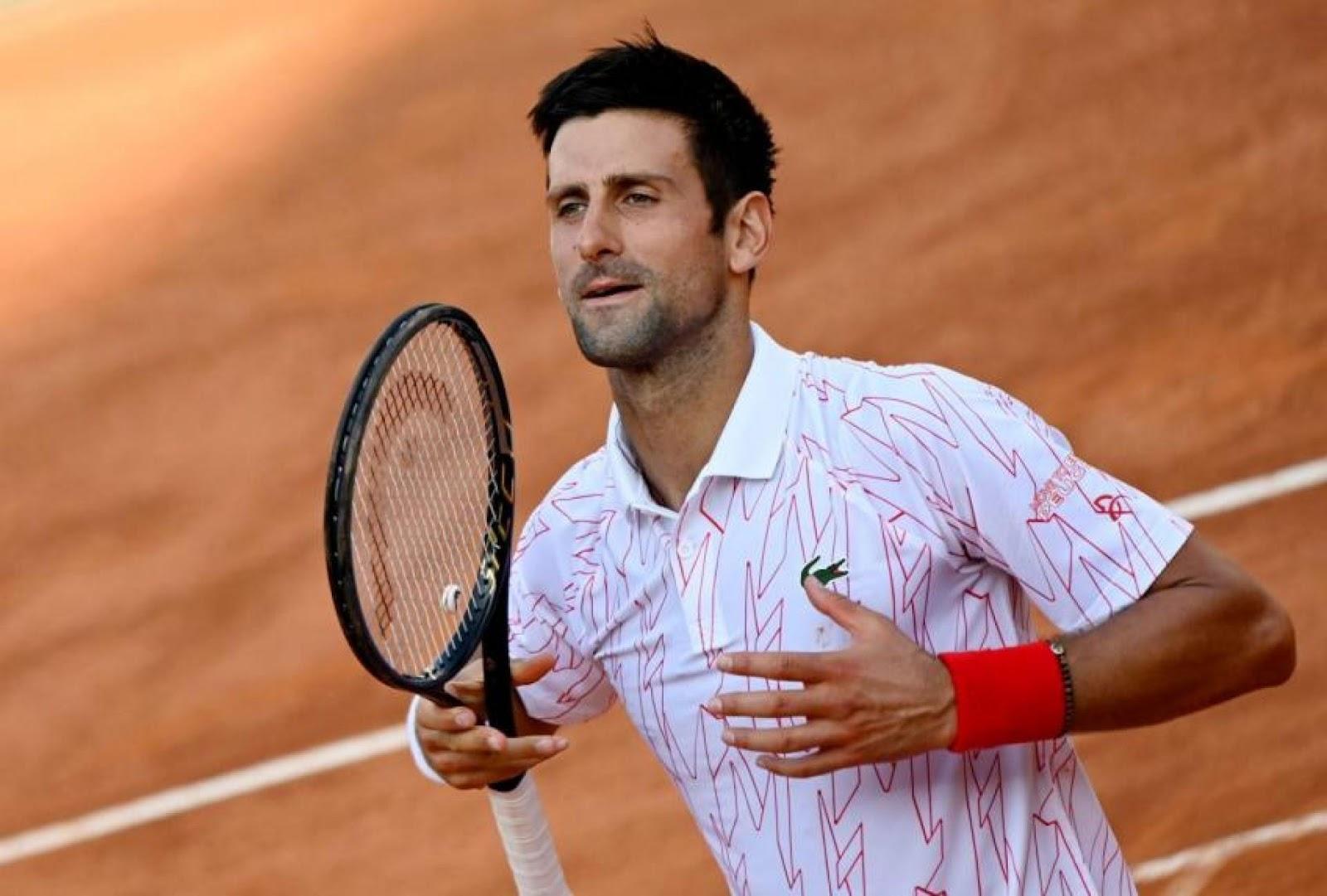 许多球迷认为Novak Djokovic的反应有时候太过浮夸