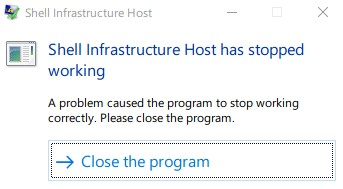 shell infrastructure host