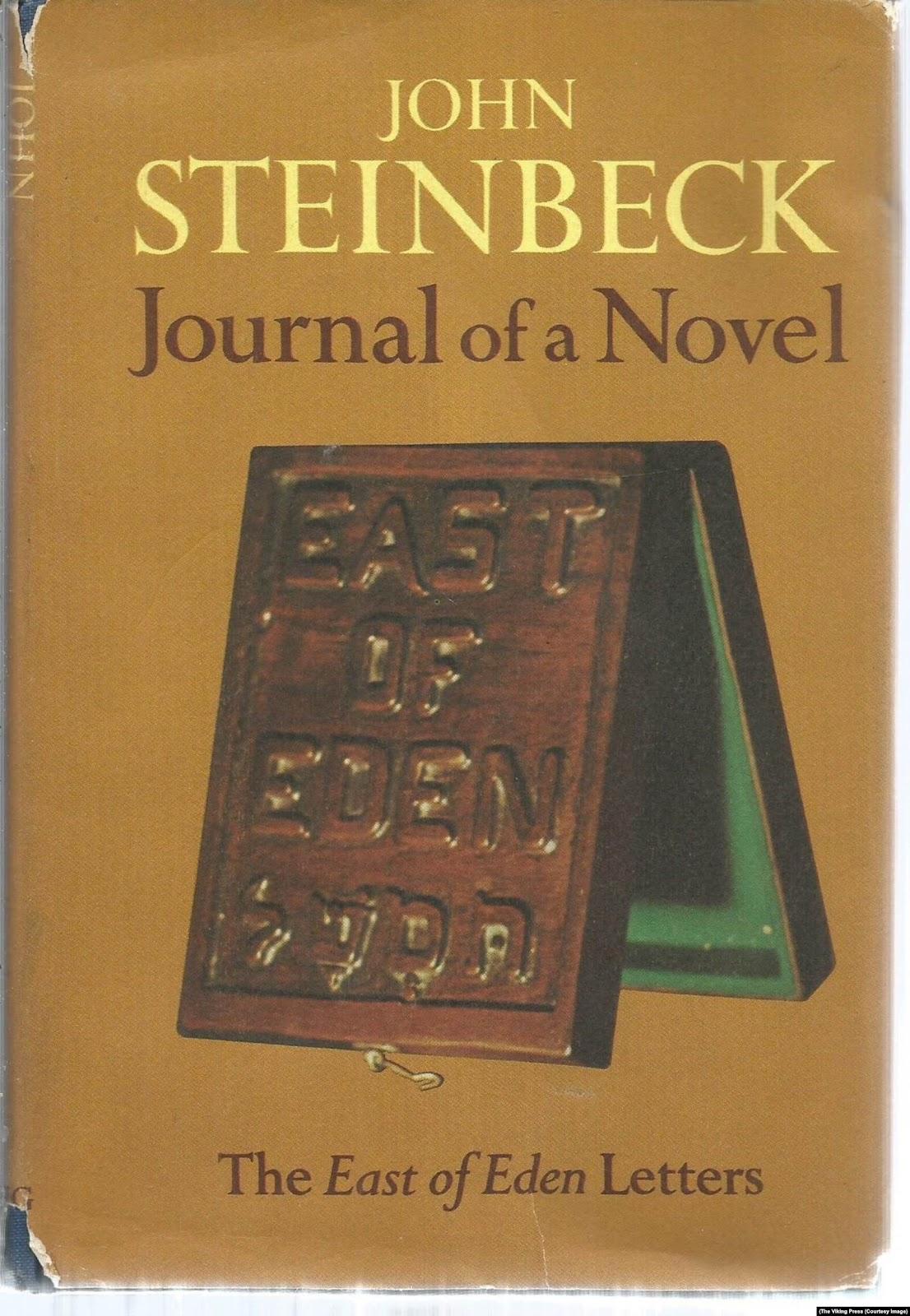 Первое издание «Дневника романа» Джона Стейнбека (The Viking Press, 1969)