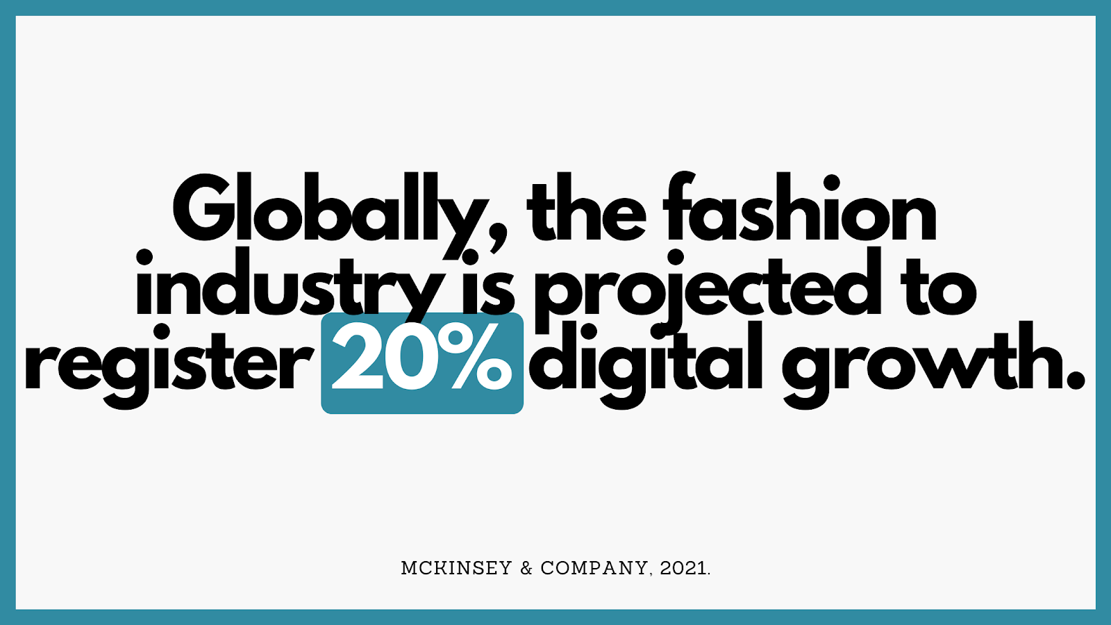 Fashion industry statistics