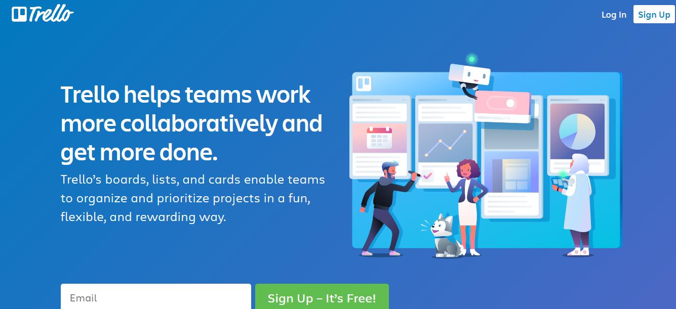 t social media collaboration tool