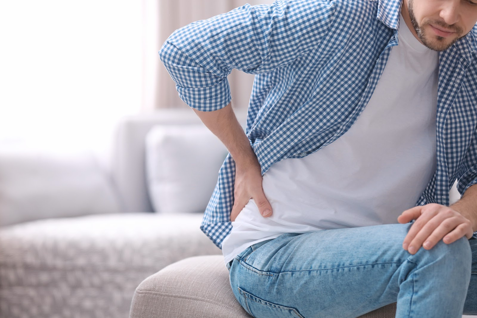 It is very common for most ordinary back pain to dominates one side of the back.