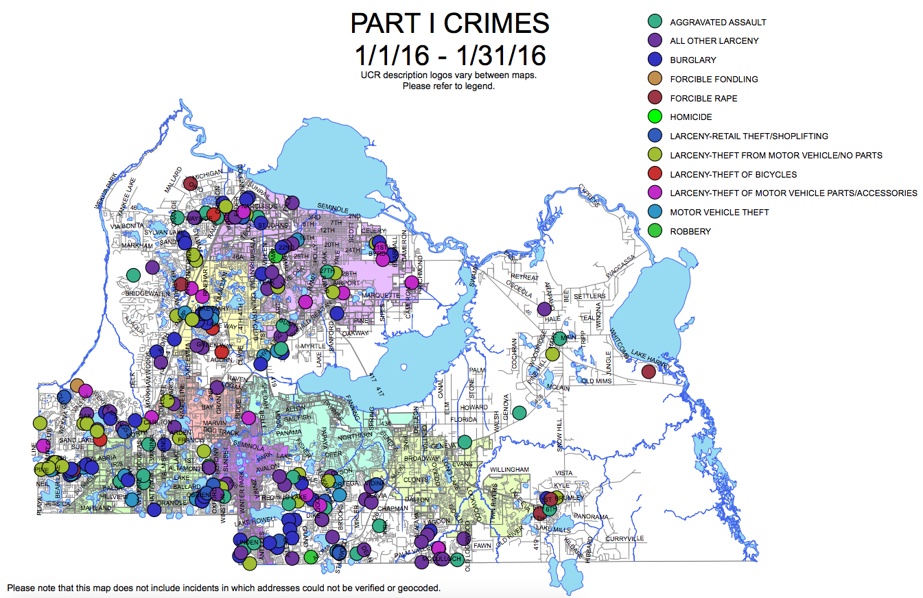 CompStat  Police Data Transparency And Community Trust - Nyc map by crime