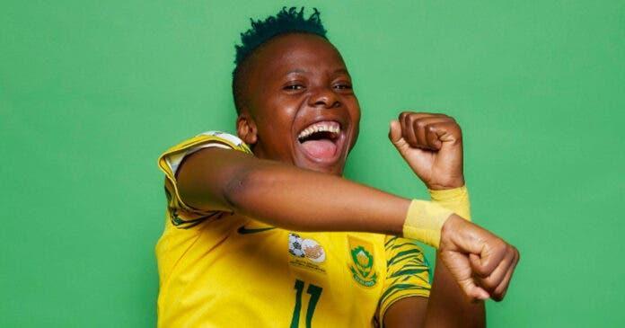 Banyana Banyana women's football star Thembi Kgatlana is moving from <a href='/clubs/eibar'>Eibar</a> to <a href='/clubs/atletico-madrid'>Atletico Madrid</a> Fememino