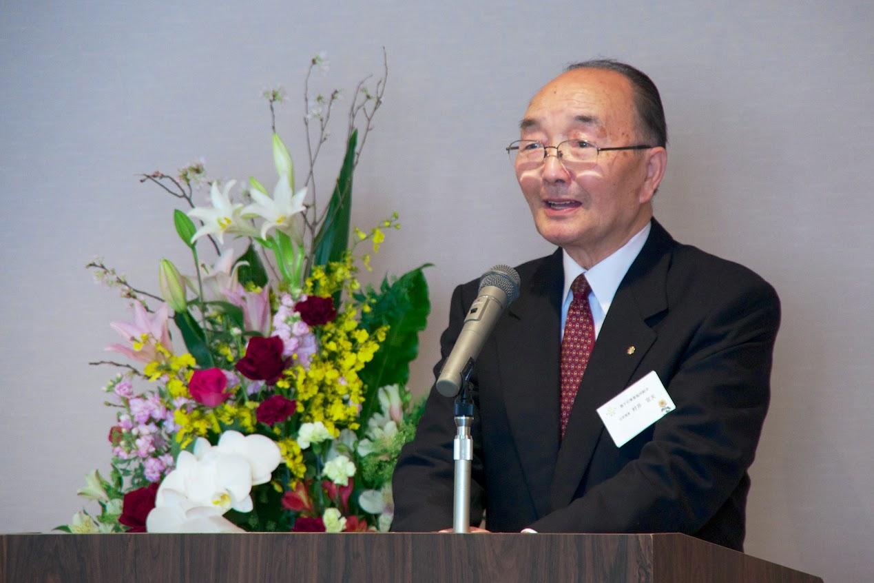 平成26年度女性・高齢者チャレンジ活動表彰:村井宣夫 会長謝辞