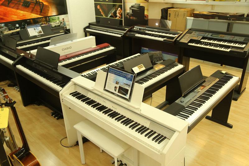 Khách hàng cần phải xác định dòng đàn piano chính hãng muốn mua