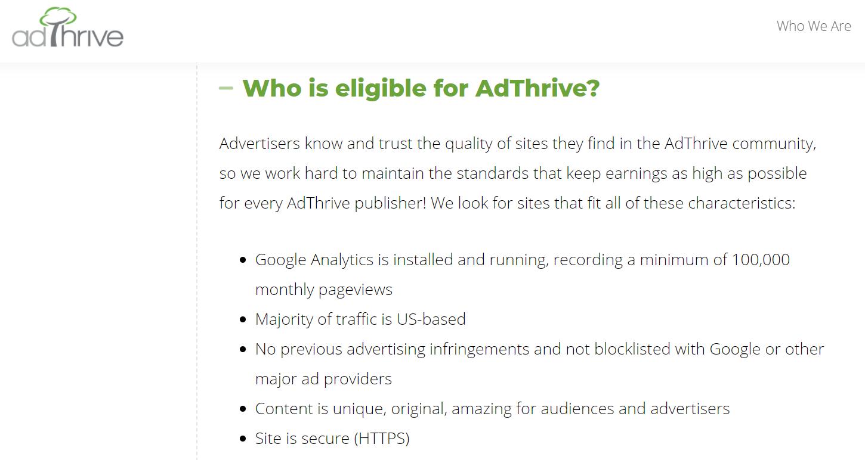 AdThrive advertising platform