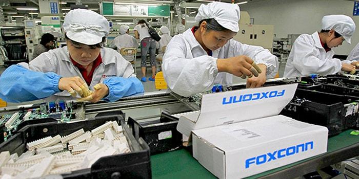 中国富士康员工的极度恶劣环境名扬国际//图片来源:iphonedigital,Flickr