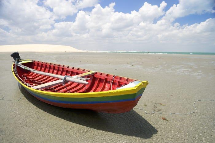 Praia Jeri, Brasil