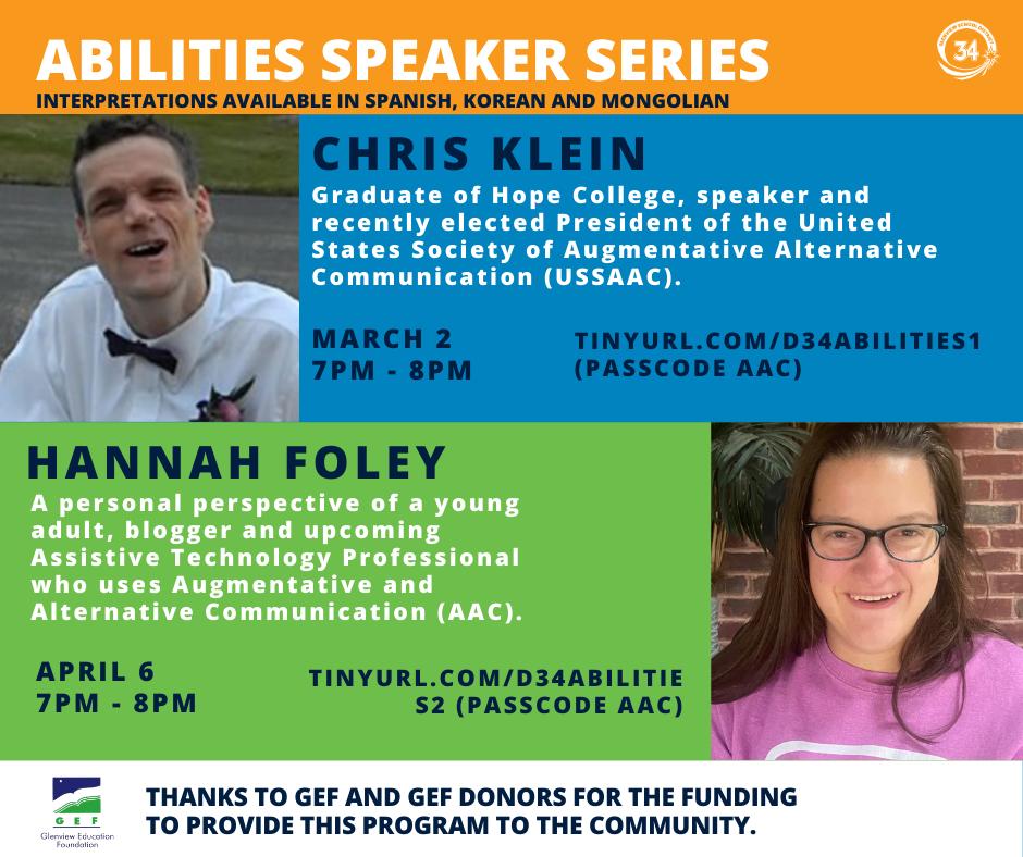 Abilities Speaker Series