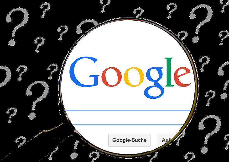 Google, Question, Online