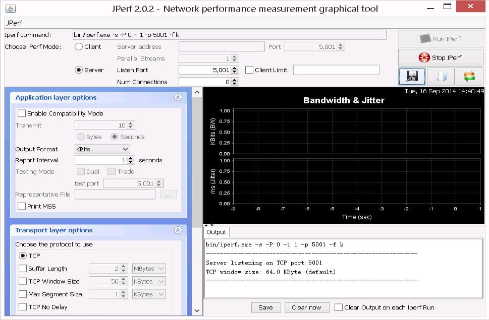Tech blog: How to install & use iperf & jperf tool