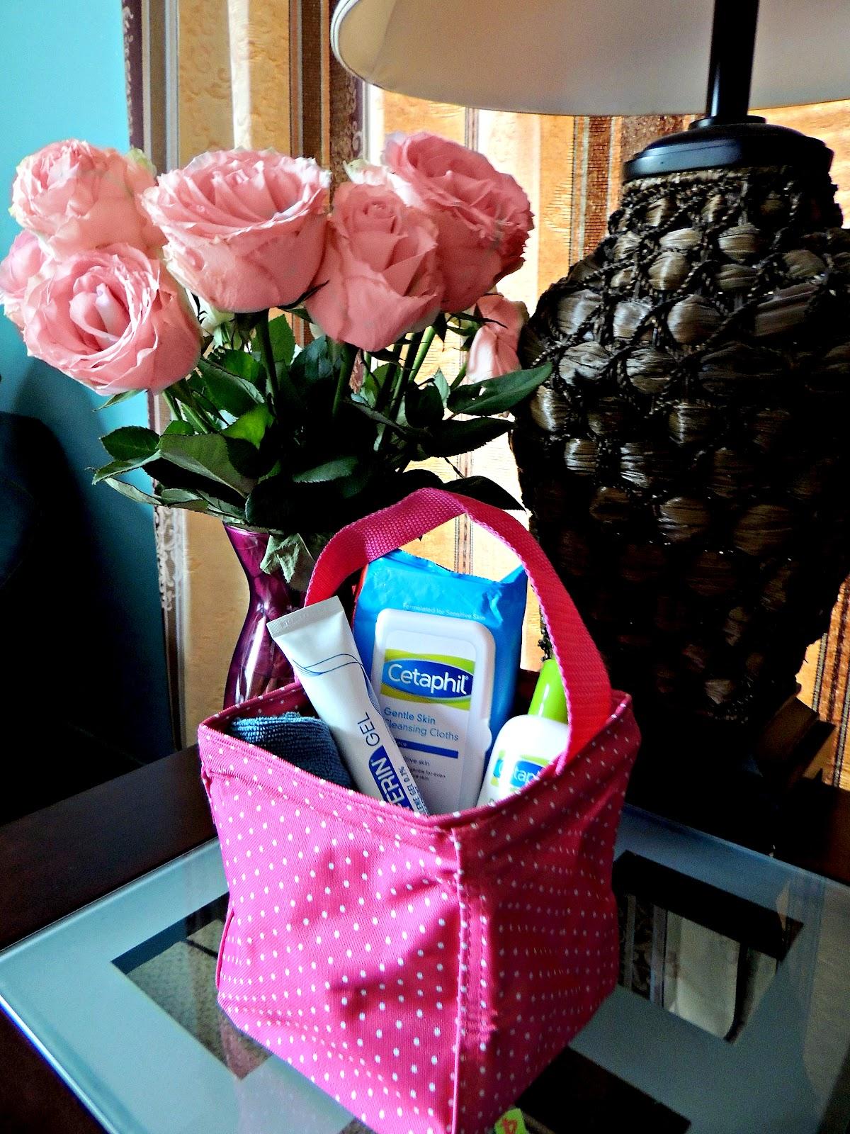 DIY Facial Care Kit bedside table #BeforeDifferinJourney #ad.jpg