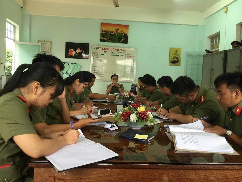 Đội An ninh Công an thành phố Kon Tum – những cánh chim không mỏi