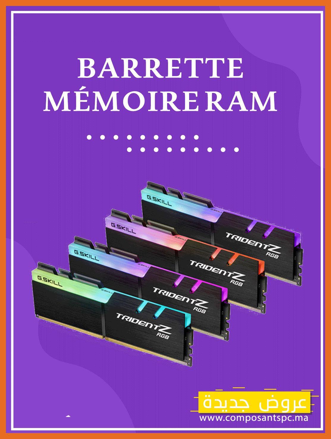 BARRETTE MÉMOIRE RAM