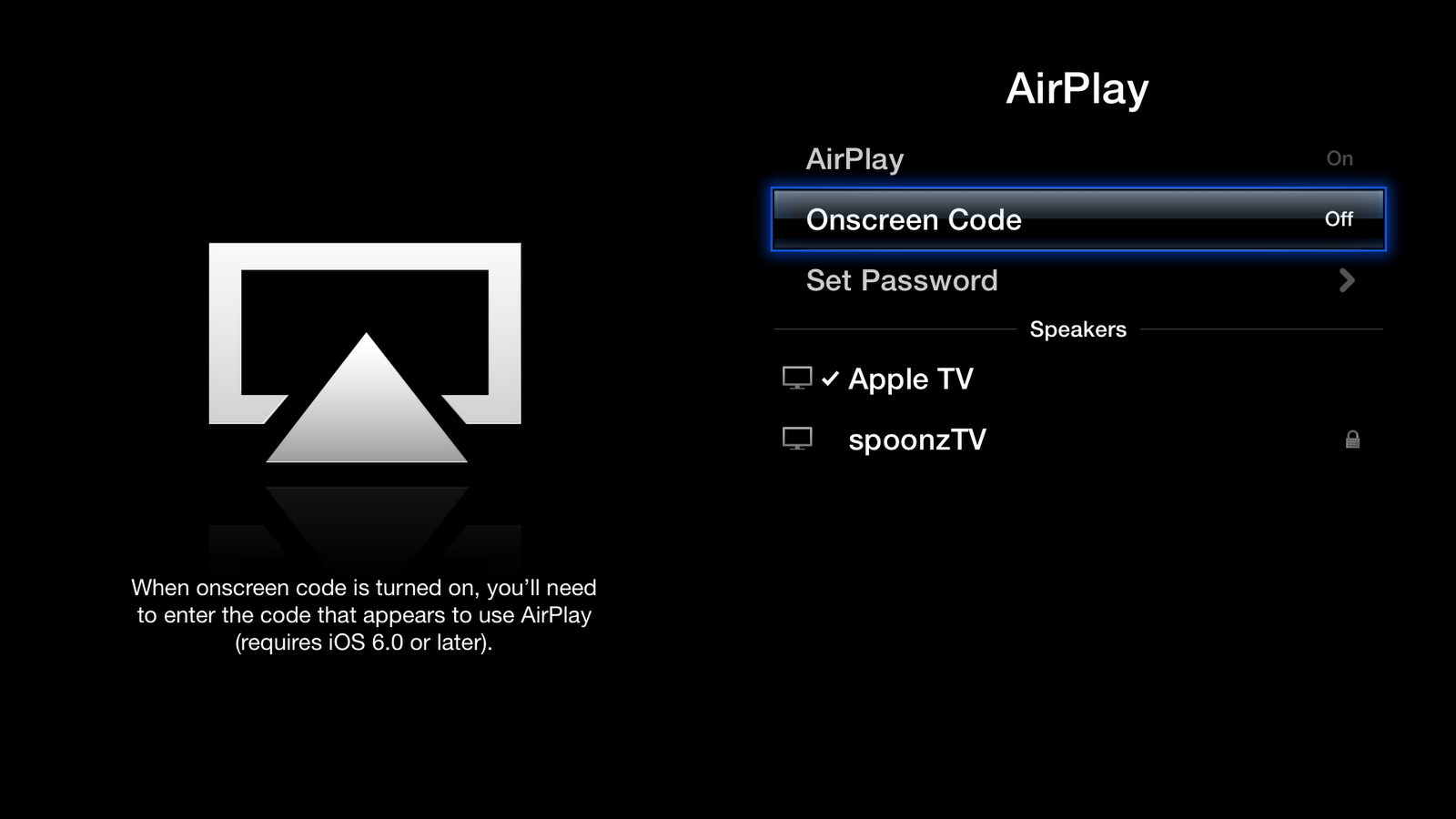 Apple tv airplay from pc