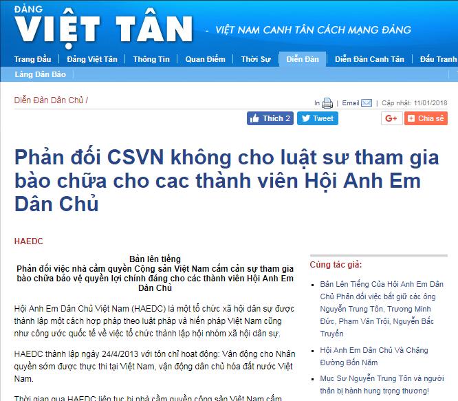 Việt Tân