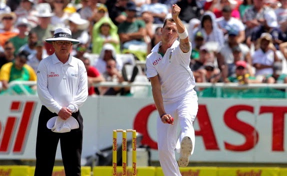 Dale Steyn fastest bowler in cricket currently playing