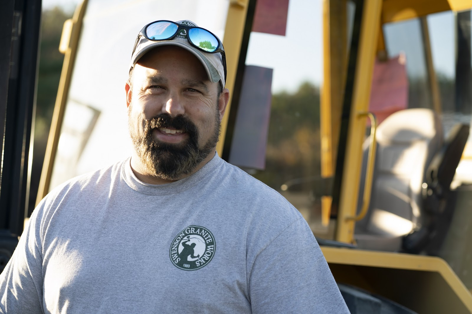 Tony Cherella, Swenson Granite Works Medway Store Yard Foreman