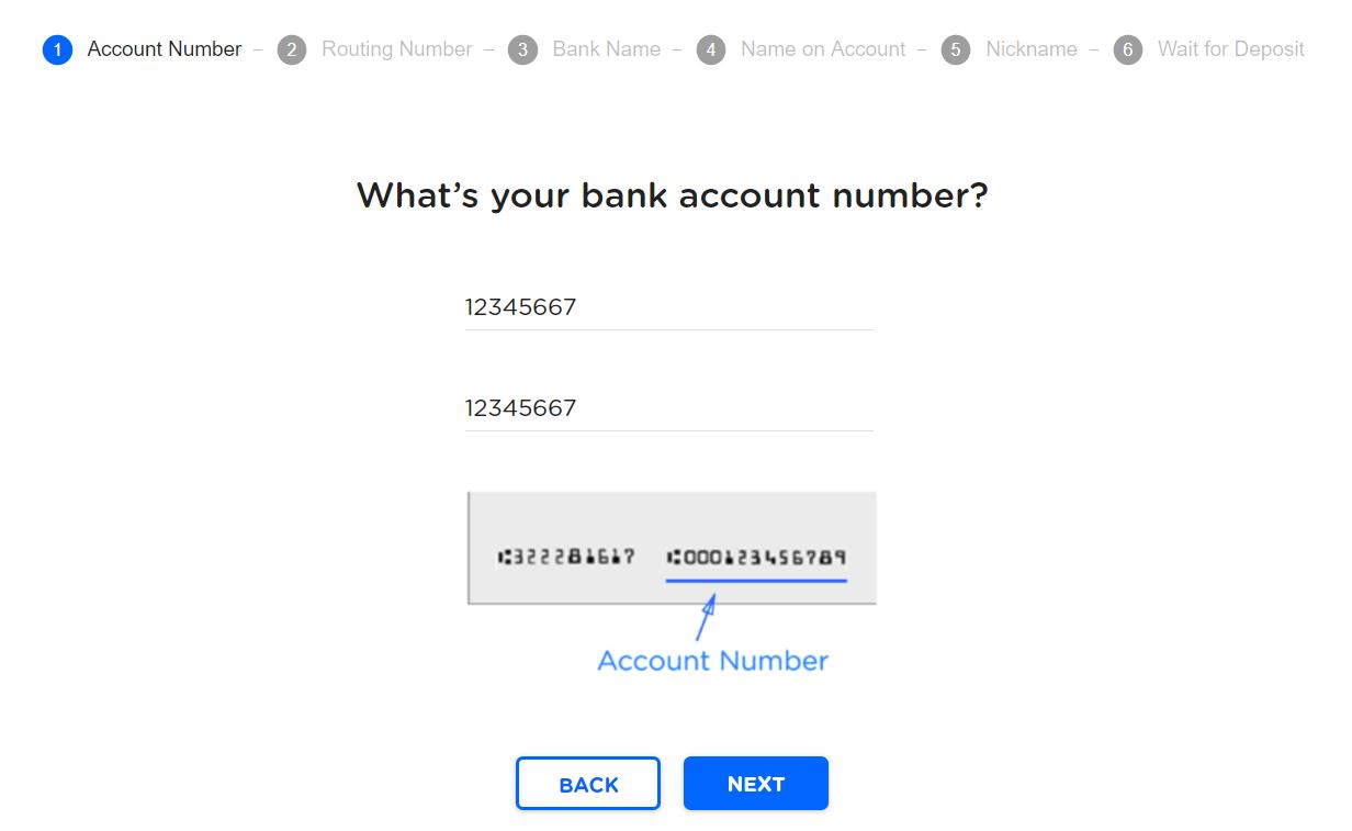 Linking bank account - New | ClassWallet