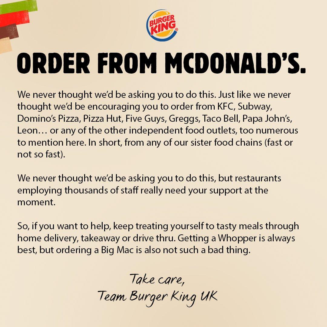 McDonalds & Burger King Marketing Stunts