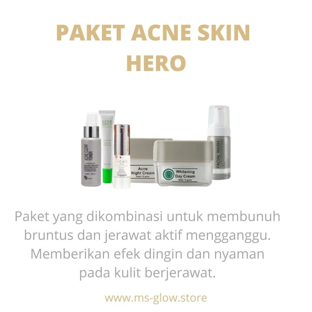 MS Glow Paket Acne Skin Hero