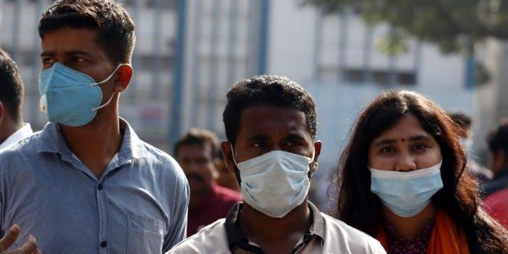 Wearing masks for prevention