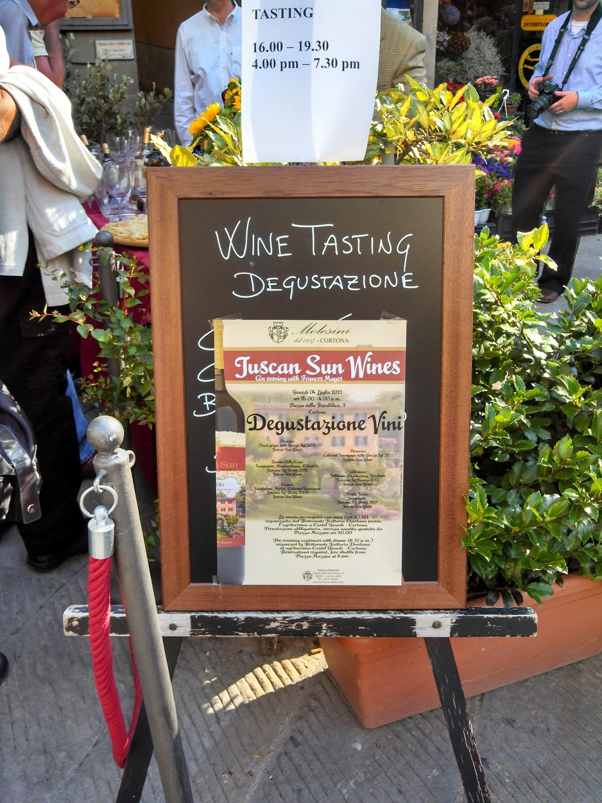 TuscanSunWines Launch July 4th 2013 Cortona Italy | Cortona, Italy shot with an Android Razr HD by Katie Shea Design #VZWBuzz