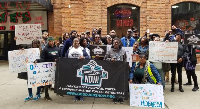 Detroit community action group