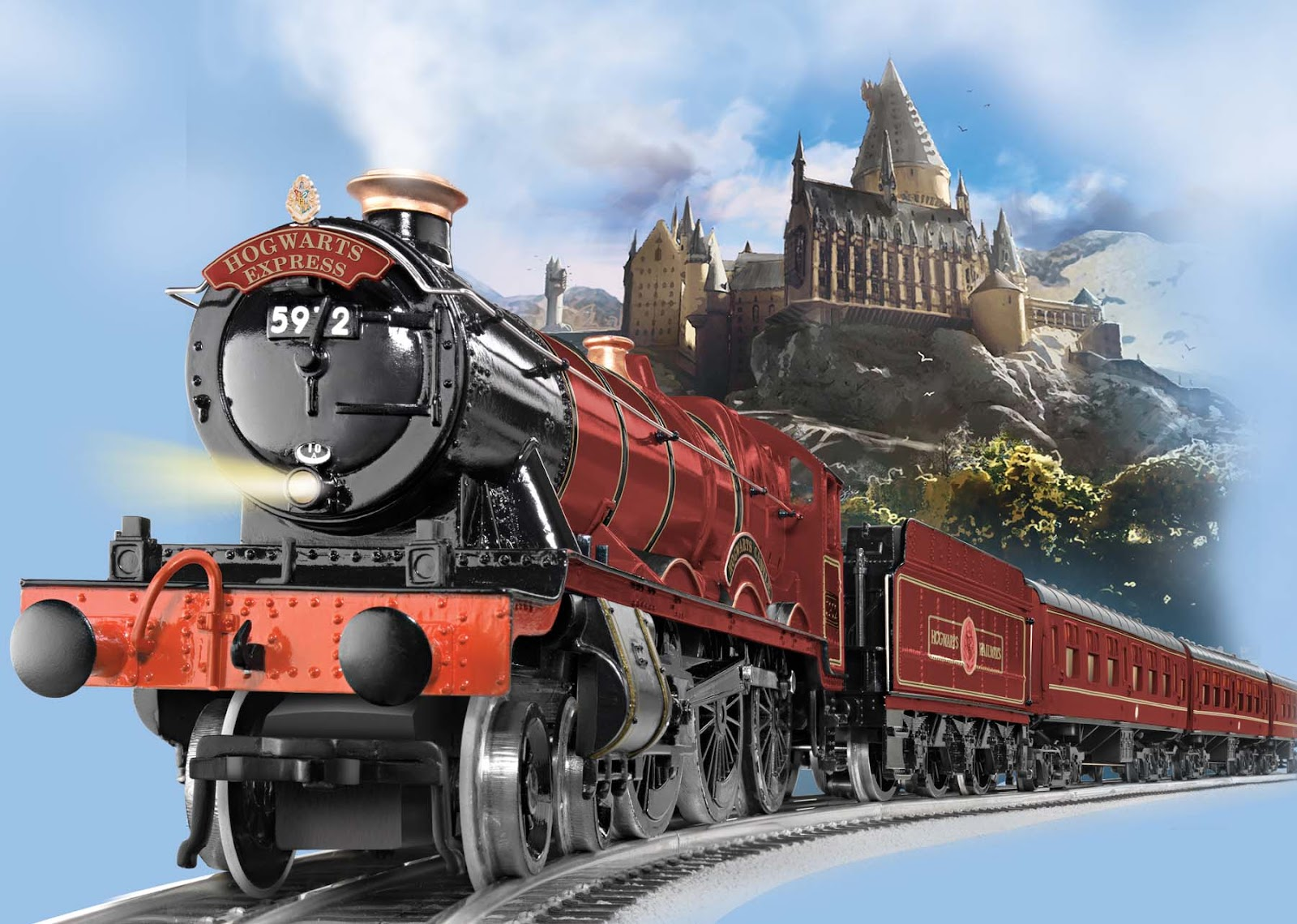 Image result for train to hogwarts