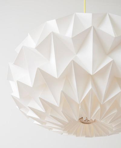 Origami trend scends interior design formfonts 3d models
