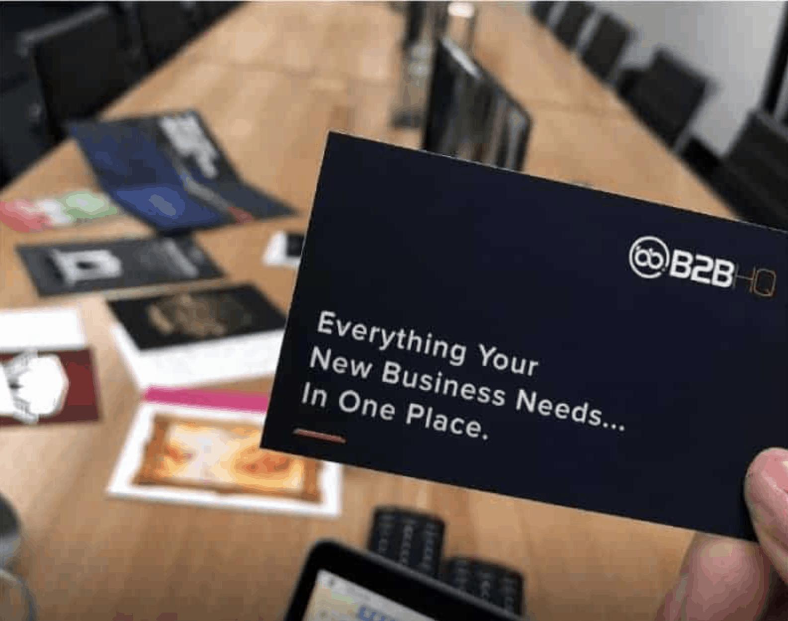 B2B HQ Virtual Offices Review Card