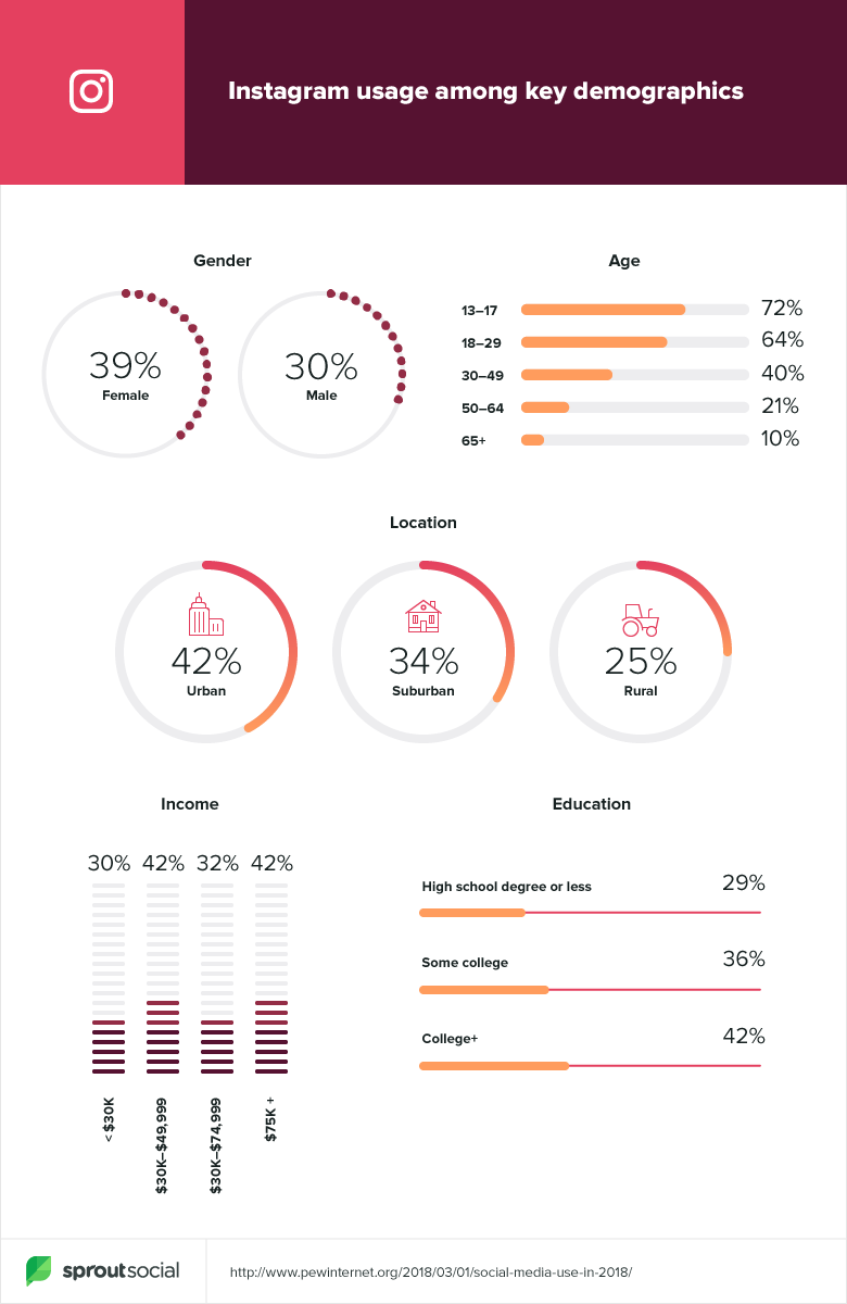 Instagram key demographics