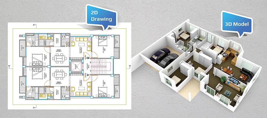 3D modeling software for interior design